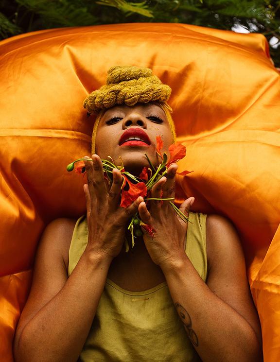 Musician Brenda Navarrete; Photo: Rose Marie Cromwell