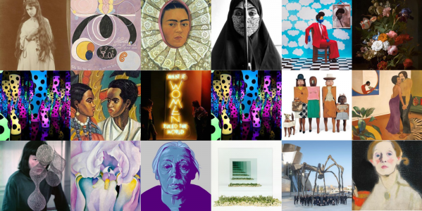 #5WomenArtists posts from Instagram