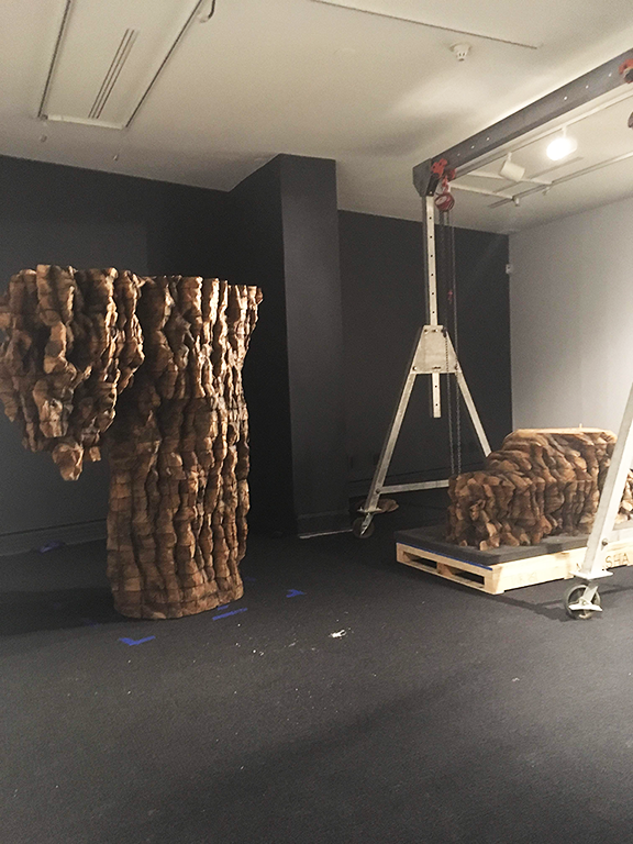 Installation of For Natasha (2015); Photo by Neda Amouzadeh