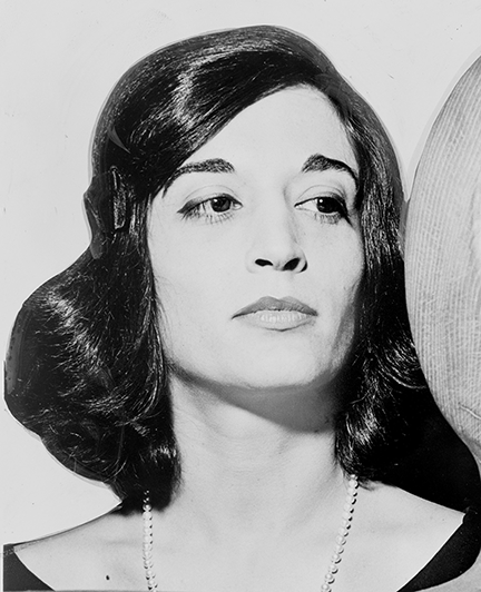 Marisol Escobar circa 1963; Photo courtesy of Library of Congress Prints and Photographs Division, and the World Telegram & Sun; Photo by Herman Hiller
