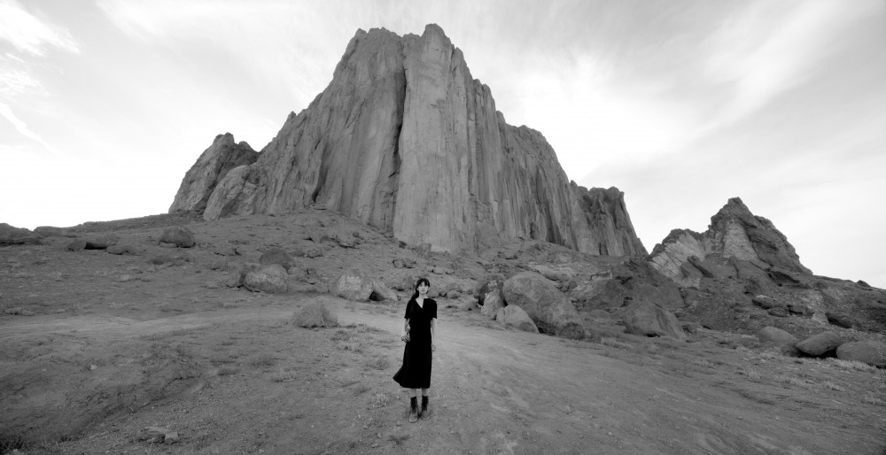 Shirin Neshat, Land of Dreams video still, 2019; Photo courtesy of the Broad Museum