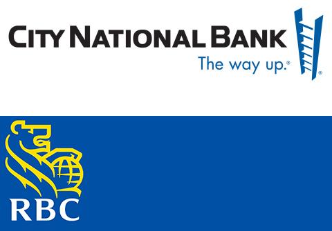 RBC and City National Logo