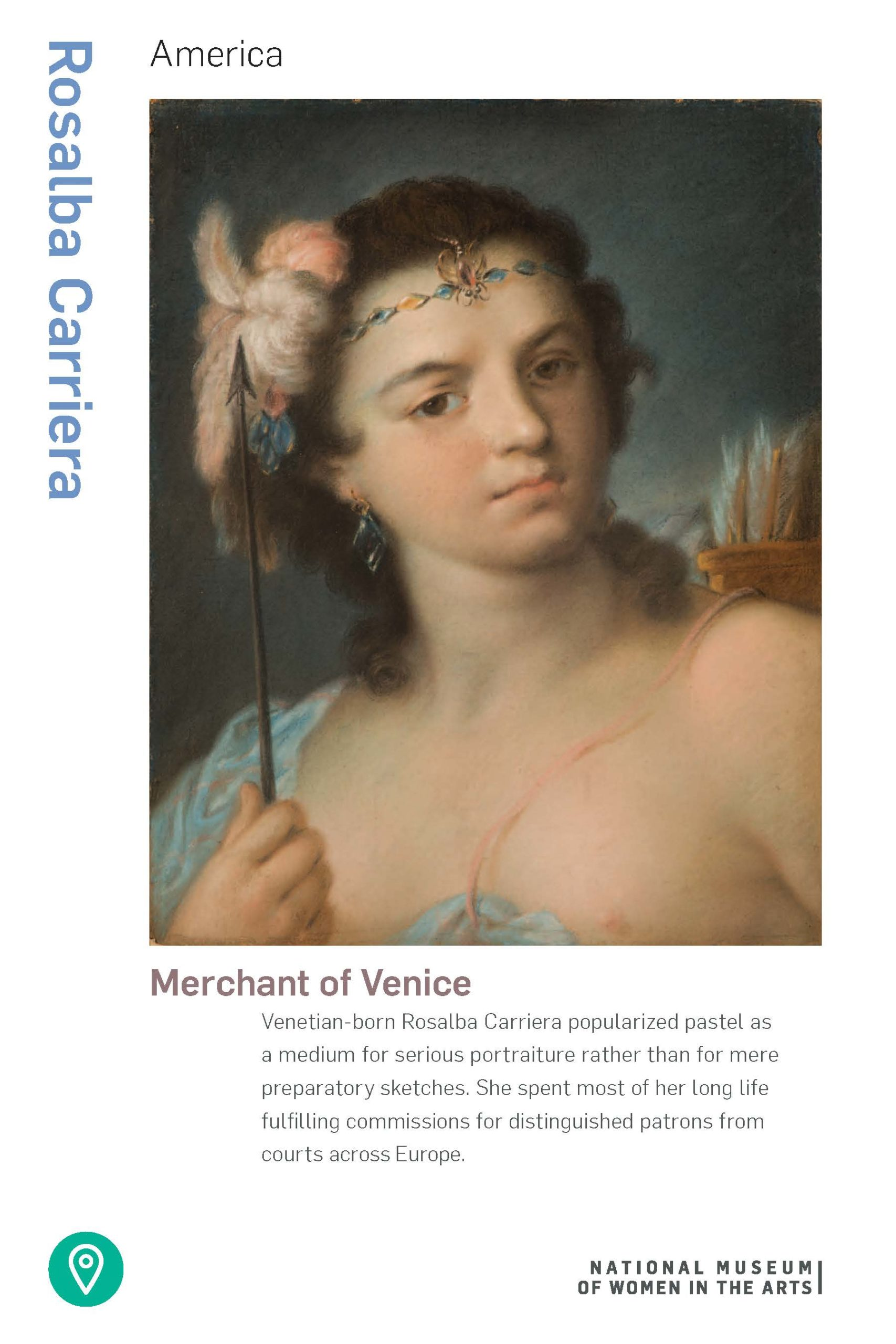 Facts about the artist Rosalba Carriera and her paintings (PDF)