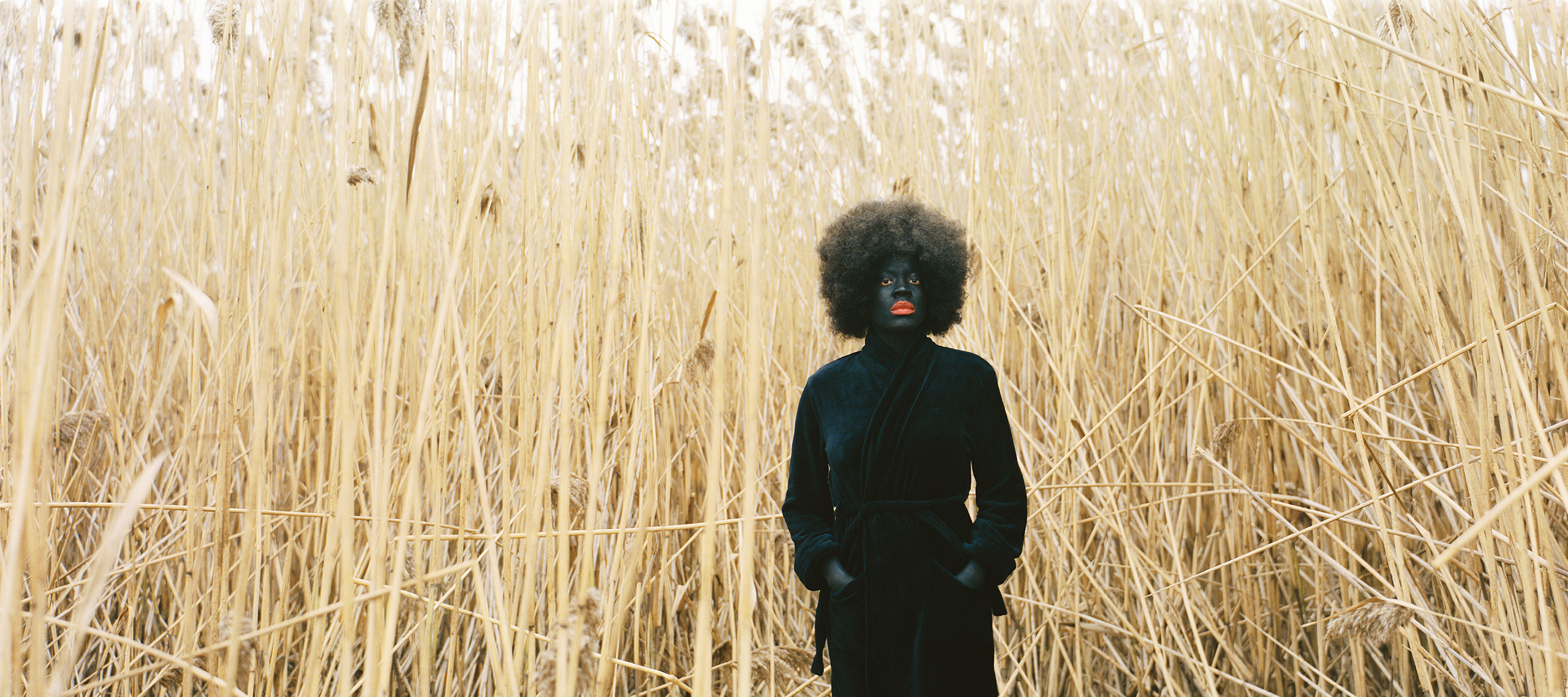 Xaviera Simmons, <i>One Day and Back Then (Standing)</i>, 2007; Chromira c-print, 30 x 40 in.; Collection of Darryl Atwell; © Xaviera Simmons, Courtesy David Castillo Gallery