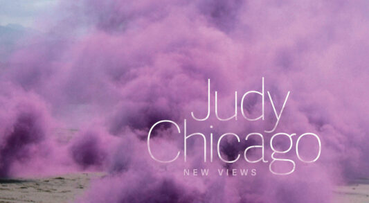 Cover Judy Chicago New Views Catalogue