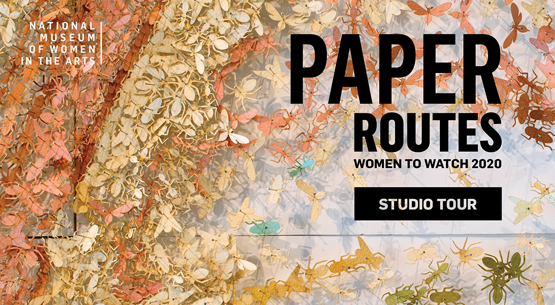 Title screen for Paper Routes Studio Tour videos