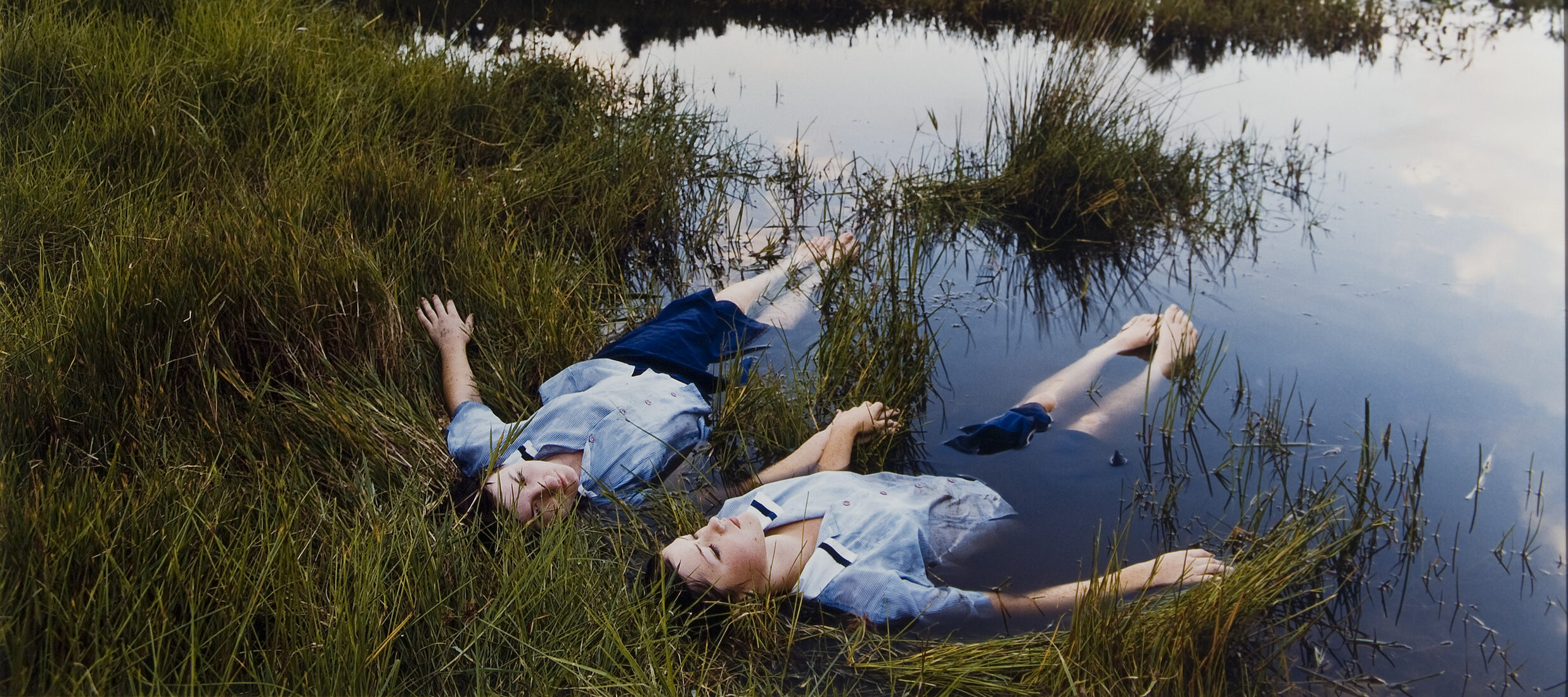 Justine Kurland, <i>Grassland Drifters</i>, 2001; Chromogenic color print, 30 x 40 in.; National Museum of Women in the Arts, Gift of Heather and Tony Podesta Collection; © Justine Kurland, Courtesy of the artist Mitchell-Innes & Nash, New York