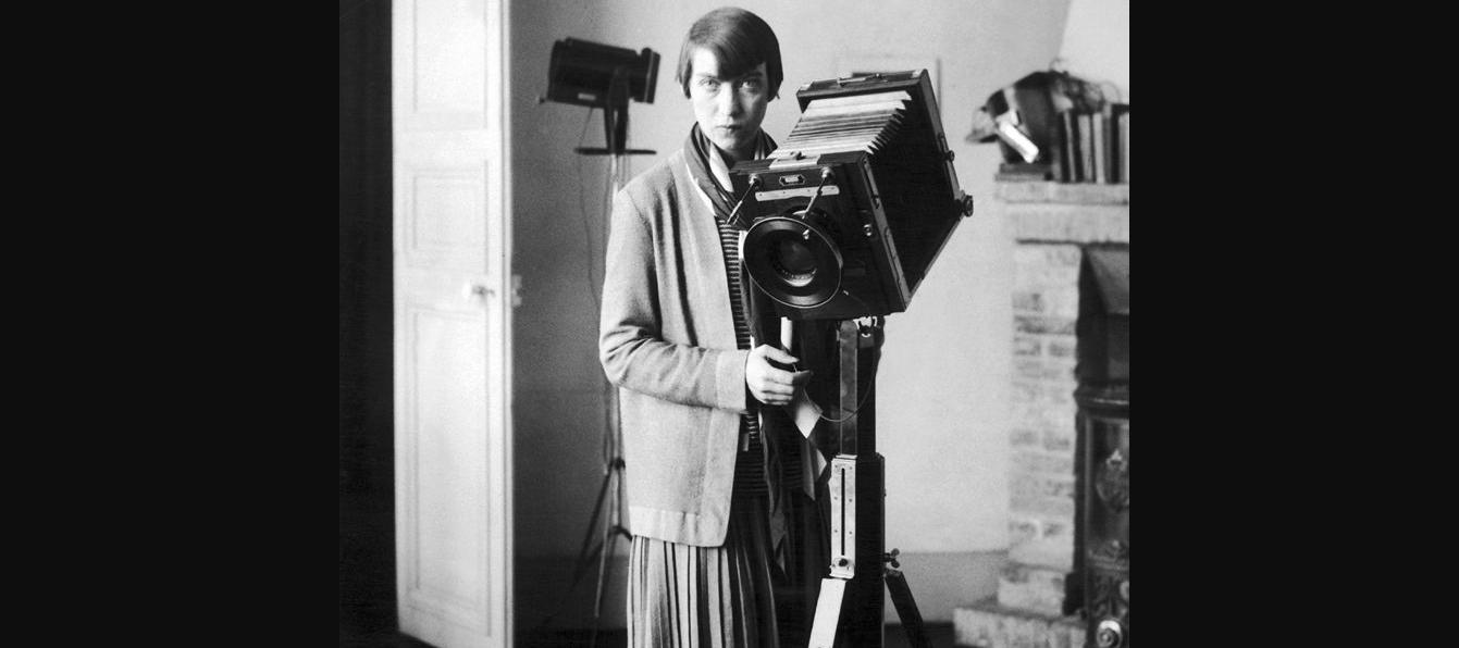 Berenice Abbott, ca. 1930s; Photographer unknown