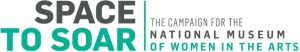 Space to Soar: The Campaign for the National Museum of Women in the Arts logo