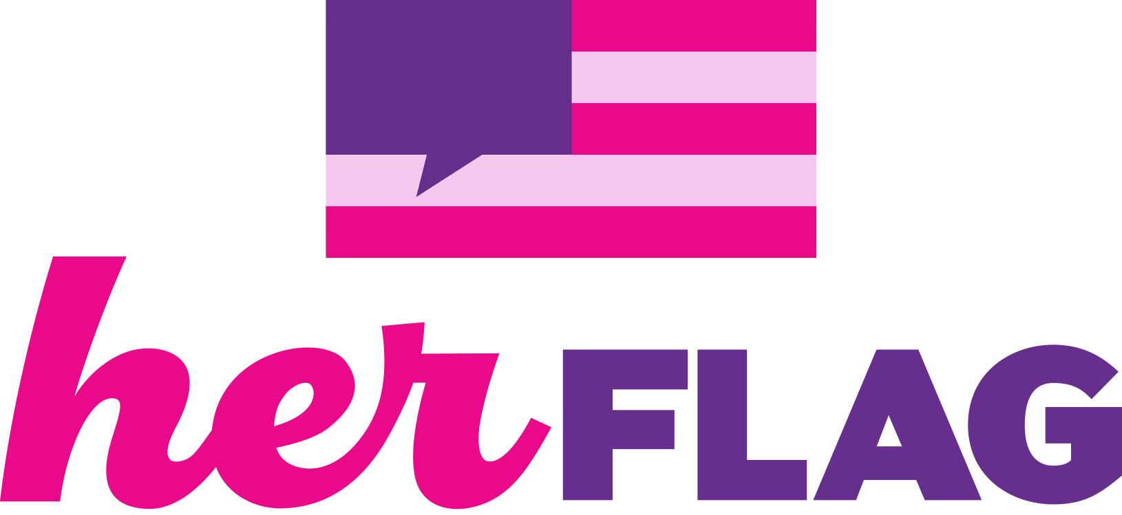 Her Flag logo