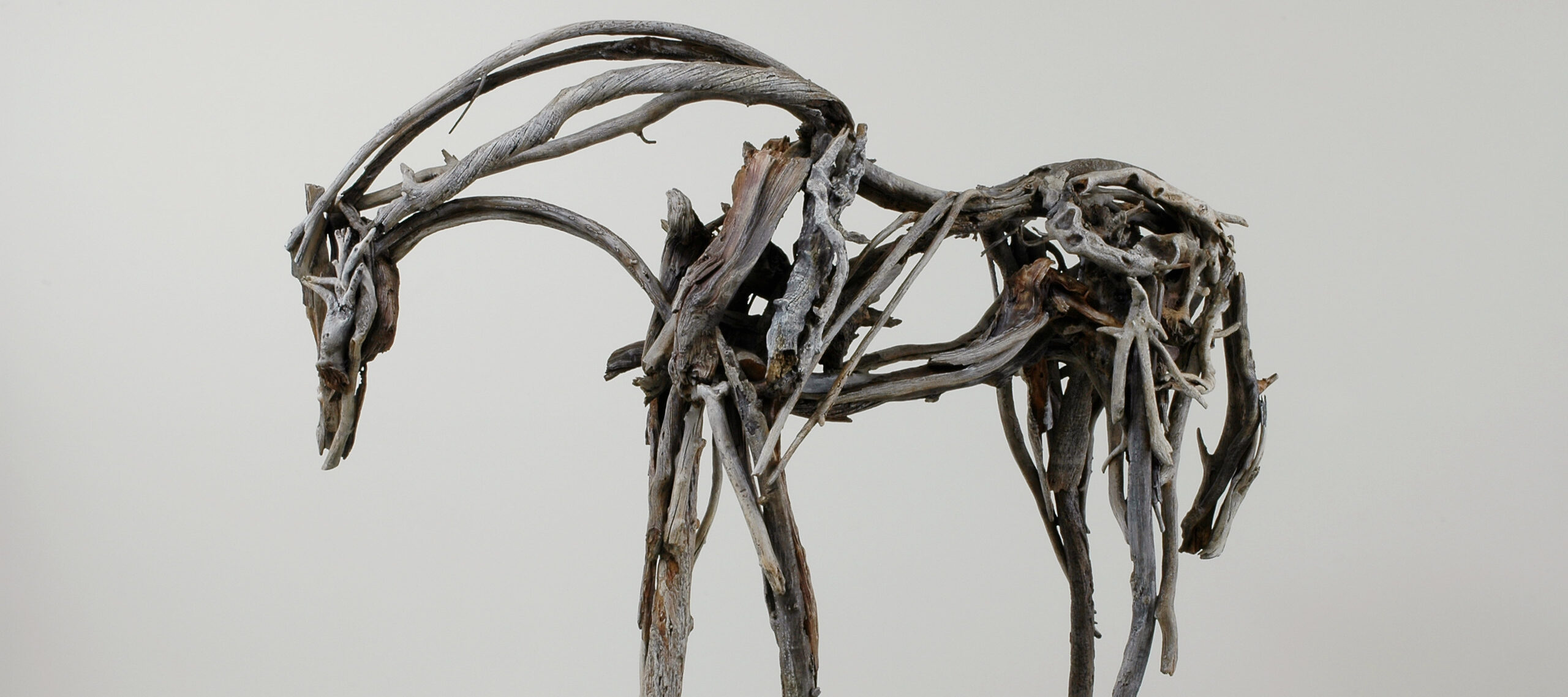 Deborah Butterfield, <i>Big Horn</i>, 2006; Cast bronze, 92 x 114 x 41 in.; National Museum of Women in the Arts, Gift of Jacqueline Badger Mars in honor of Wilhelmina Cole Holladay; © Deborah Butterfield; Image courtesy of L.A. Louver